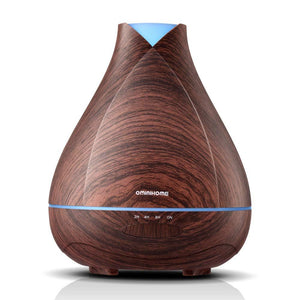 Aromatherapy Essential Oil Diffuser 530ml Cool Mist Ultrasonic Fragrance Scent Humidifier