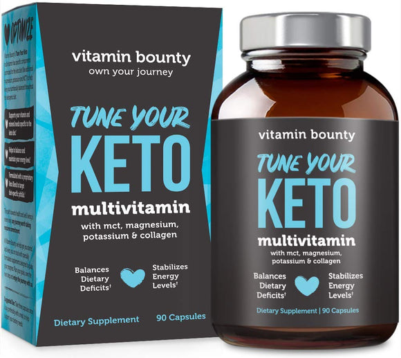 Keto Pills with BHB Beta Hydroxybutyrate Exogenous Ketones and Green Tea Extract