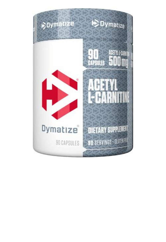 Dymatize Acetyl L-Carnitine Supplement, Supports Mental Focus, Provides Energy & Increase Fat Metabolism, 90 Capsules
