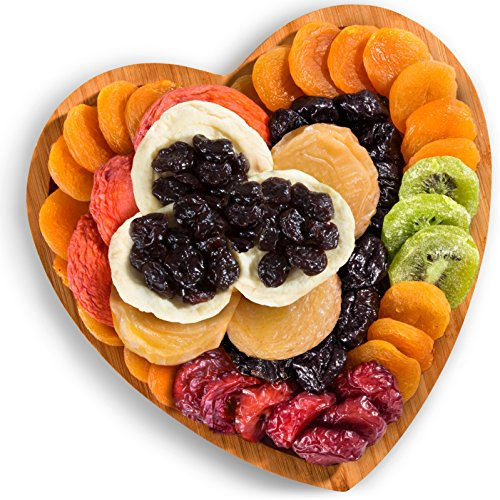 Dried Fruit with Bamboo Heart Gift Tray