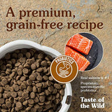 Taste of the Wild Grain Free Premium High Protein Dry Dog Food Pacific Stream Adult - Smoked Salmon 28 lbs
