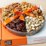 Roasted Nut Variety Fresh Assortment Tray, Gift Idea for Men & Women Get Well Sympathy Fathers Mother & Valentines Day