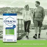 Citracal Plus Magnesium, 500 mg Calcium Citrate with 250 IU Vitamin D3 and 80 mg Magnesium