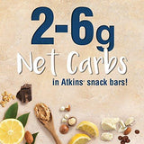 Atkins Snack Bar, Caramel Chocolate Nut Roll, 24 Count (Value Pack)