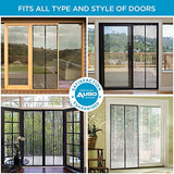 Magnetic Screen Door - Self Sealing, Heavy Duty, Hands Free Mesh Partition Keeps Bugs Out