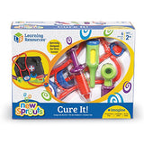 Learning Resources New Sprouts Cure It! Doctor Kit for Toddlers, 6 Pieces