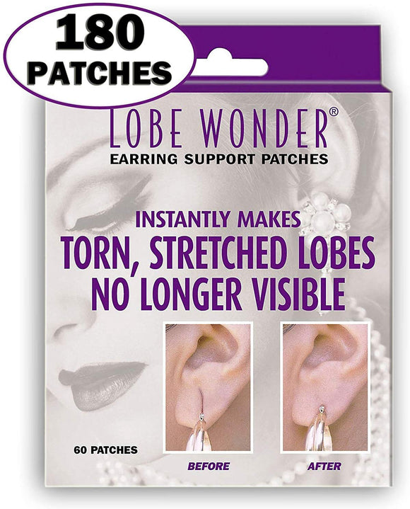 Lobe Wonder Repair Earring Support Patches 60 Count