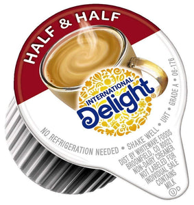 International Delight, Coffee House Inspirations Half and Half, 180 Count Each, Single-Serve Coffee Creamers