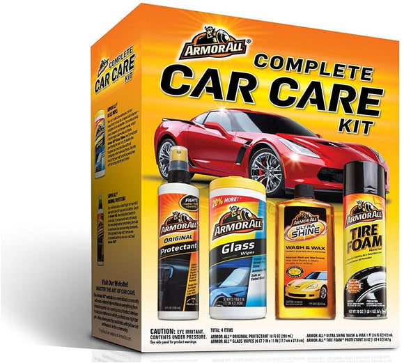 Armor All Complete Car Care Kit  (4 Items Included)