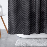 Fabric Shower Curtain for Bathroom,Waterproof