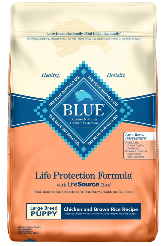Blue Buffalo Life Protection Formula Large Breed Puppy Dog Food