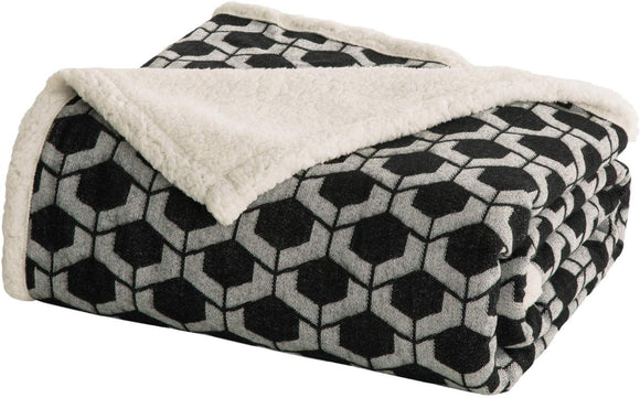 Bedsure Sherpa Twin Blanket for Bed, Sofa and Couch
