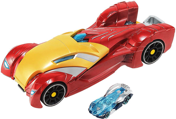 Hot Wheels Marvel Vehicle and Launcher