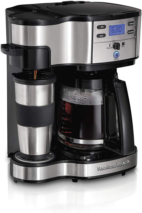 Hamilton Beach 49980A 2-Way Brewer Coffee Maker, Single-Serve