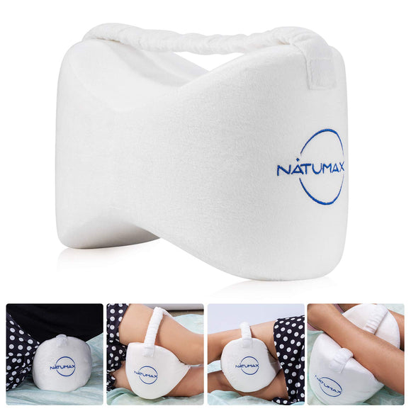 NATUMAX Knee Pillow for Side Sleepers