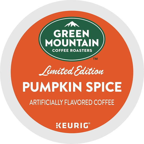 Green Mountain Coffee Coffee Single Serve K-Cup Pod Flavored Coffee, Pumpkin Spice, 32 Count
