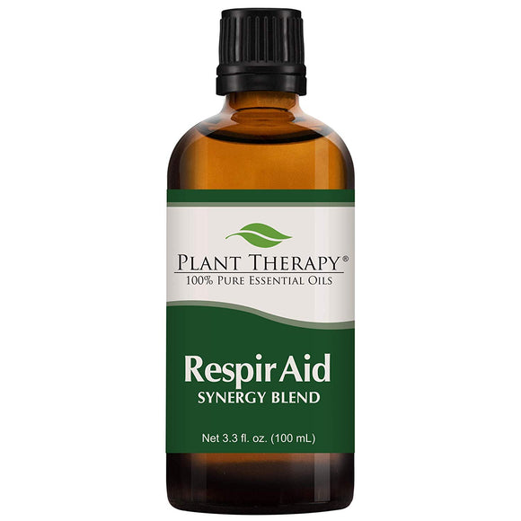 Plant Therapy Respir Aid Essential Oil | Sinus, Airway and Congestion Clearing Synergy Blend