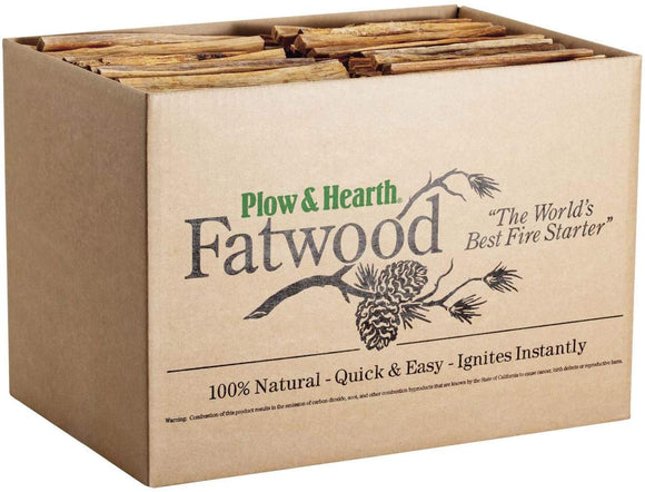 Plow & Hearth 1059 Fatwood Fire Starter