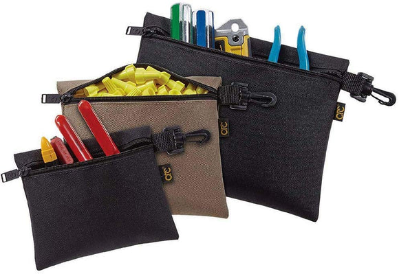 CLC Custom Leathercraft 1100 Multi-Purpose Clip-on Zippered Poly Bags