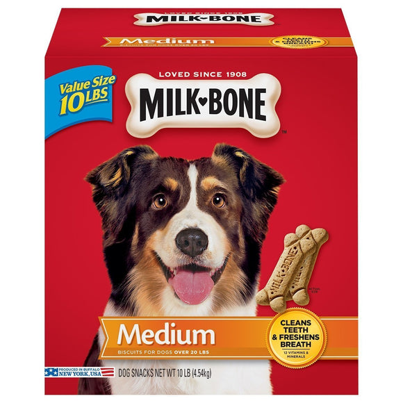 Milk-Bone Original Dog Treats 10 lbs Box