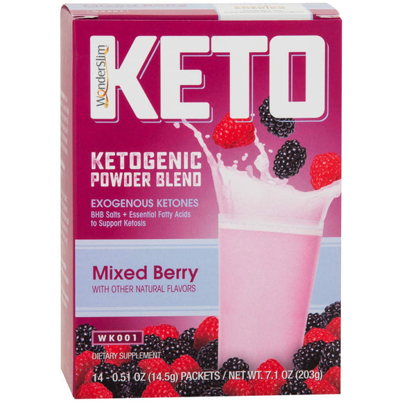 WonderSlim KETO Ketogenic Powder