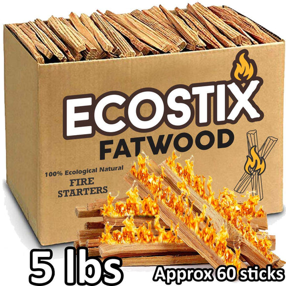 EasyGoProducts EGP-STIX-007 Eco-Stix Fatwood Fire Starter Kindling Firewood Sticks