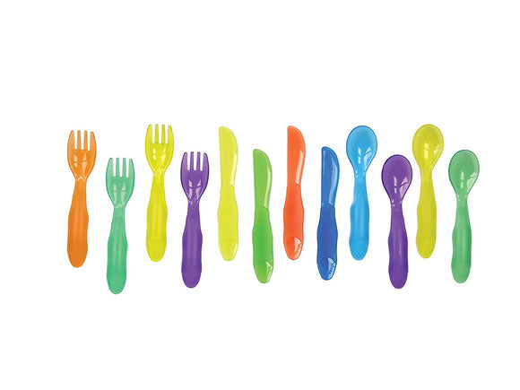 The First Years Take & Toss Flatware for Kids