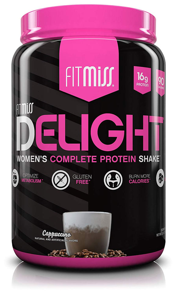 FitMiss Delight Protein Powder, Healthy Nutritional Shake for Women, Whey Protein - 2-Pound