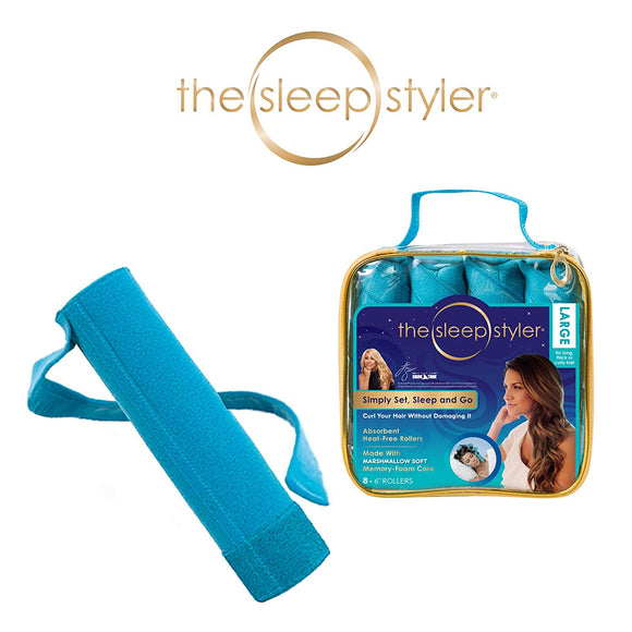 Allstar Innovations Sleep Styler: The heat-free Nighttime Hair Curlers for long, thick or curly hair