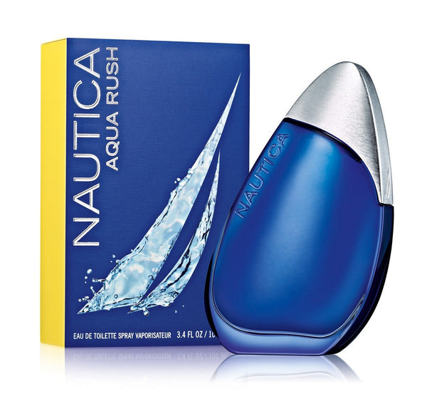Nautica Aqua Rush Eau De Toilette Spray for Men, 3.4 Ounce