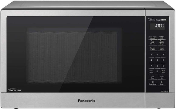Panasonic Compact Microwave Oven with 1200 Watts of Cooking Power, Sensor Cooking