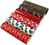 David Angie Merry Christmas Faux Leather Sheet