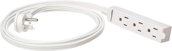 Indoor 3 Prong Extension Power Cord Strip