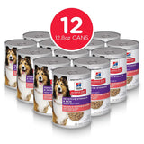 Hill's Science Diet Canned Wet Dog Food, Adult, Sensitive Stomach & Skin