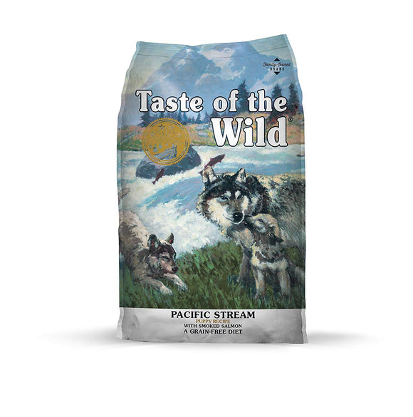 Taste of The Wild Grain Free Premium High Protein Dry Dog Food Pacific Stream Puppy