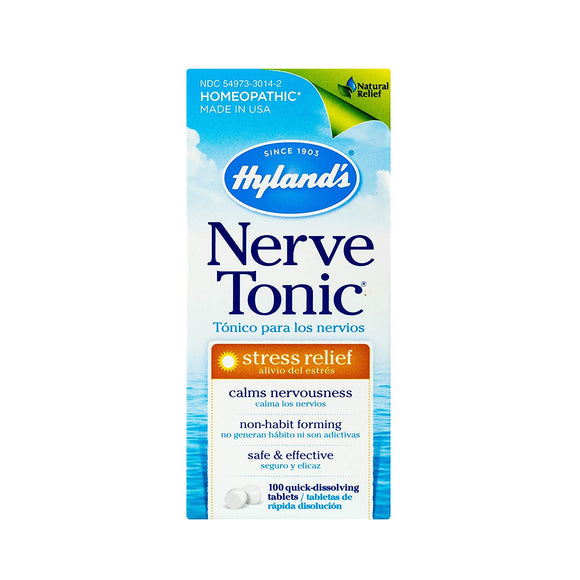 Stress and Anxiety Relief Supplement, Nerve Tonic by Hyland's
