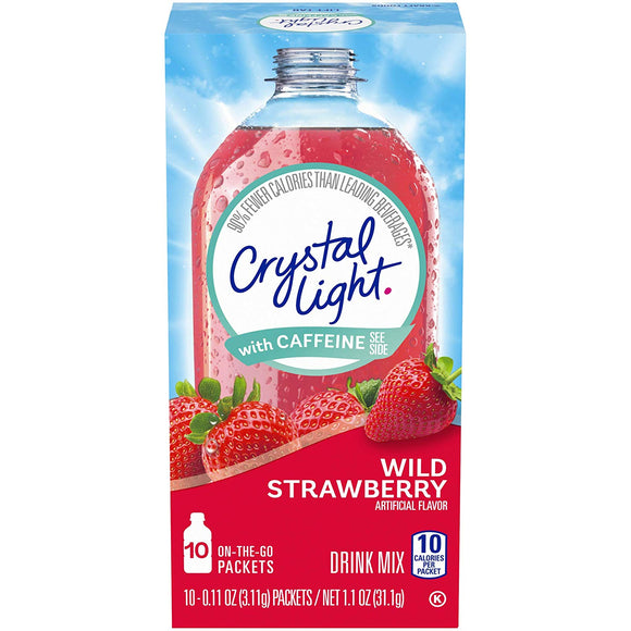 Crystal Light Drink Mix (120 On the Go Packets, 12 Canisters of 10)