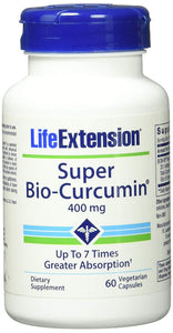 Super Bio Curcumin 400 mg - 60 ct (Pack of 2)