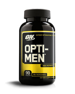 OPTIMUM NUTRITION Opti-Men, Mens Daily Multivitamin Supplement with Vitamins C, D, E, B12, 90 count