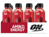 OPTIMUM NUTRITION ESSENTIAL AMINO ENERGY Ready-To-Drink, Fruit Punch 12 Count