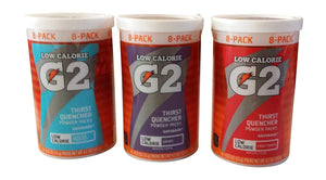 Gatorade Thirst Quencher Powder 3 Flavor Variety (24 Packs)