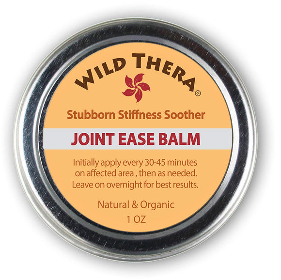 Wild Thera Natural Joint Pain Relief with Herbs & Essential Oils. For Arthritis Knee Pain, SI Joint Pain, Back Pain, Gout Pain, Bursitis