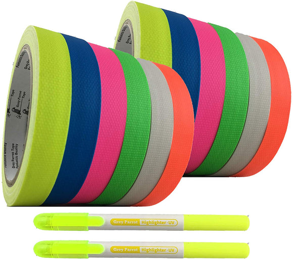 GreyParrot Tape UV Blacklight Reactive