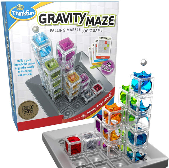 ThinkFun Circuit Maze Electric Current Logic Game