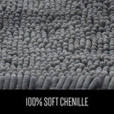 Gorilla Grip Original Luxury Chenille Bathroom Rug Mat, Extra Soft and Absorbent Shaggy Rugs, Machine Wash Dry