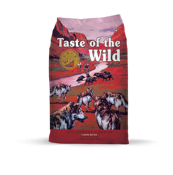 Taste of the Wild Grain Free High Protein Real Meat Recipe
