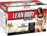 Labrada Nutrition Lean Body for Her Hi-Protein Meal Replacement Shake, 1.7-Ounce Packets (Pack of 20)