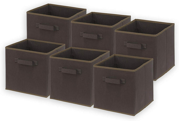 SimpleHouseware Foldable Cloth Storage Cube Basket Bins Organizer
