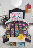 "Pokémon, ""Big Pika"" Twin/Full Comforter with 2 Pillow Shams"