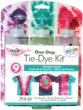 ( One-Step 5 Color Tie-Dye Kits Rainbow